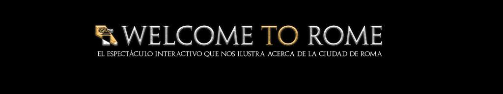 Welcome-To-Rome-el-Espectáculo-Logo